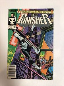 Punisher (1987) #1 (VF/NM) Newsstand Edition ! This Runs Rocks For 104 Issues !!