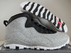 size 40 876a0 b3e90 Image is loading NIKE-AIR-JORDAN-10-RETRO-034-CEMENT-034-
