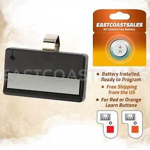 For Liftmaster 971lm 1 Button Car Garage Door Opener Remote Control 390mhz 704115788814 Ebay