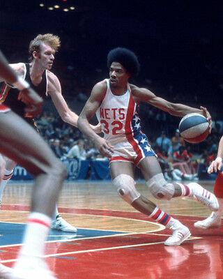 New York Nets JULIUS 'Dr J' ERVING Glossy 8x10 Photo Basketball Print Poster