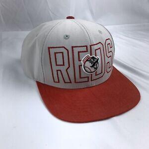 Cincinnati-Reds-Cooperstown-Gorra-Sombrero-Gorra-De-Beisbol-American-Needle-MLB-Gris