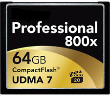 64GB CF Compact Flash Memory Card for Canon EOS 40D 50D 5D MARK II 7D