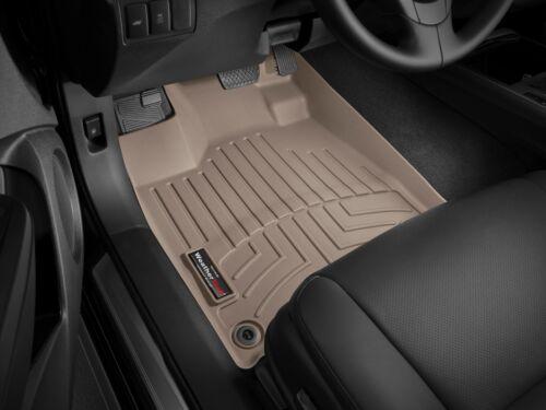 Tan 8-Way WeatherTech Floor Mats FloorLiner for Acura RDX - 2016-2018