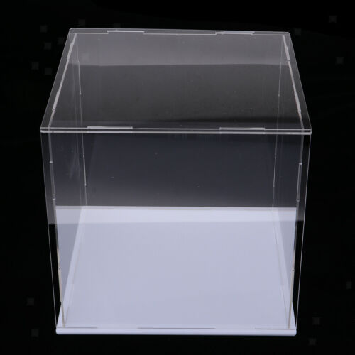 Acryl-Display-Box Schaufenster Vitrine Display Case für Automodell,