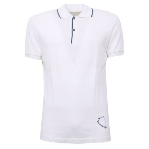 Uomo Philippe Men B3176 Manica Polo T Corto Model Bianco shirt wvqqR5BA