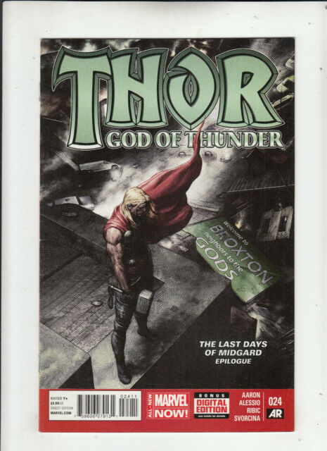 Thor God of Thunder #24 (Marvel 2014) Aaron Ribic 1st print VF-