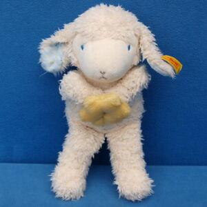 STEIFF-LAMM-MIT-STERN-SCHAF-232374-STOFFTIER-SCHLENKER-SHEEP-20-CM