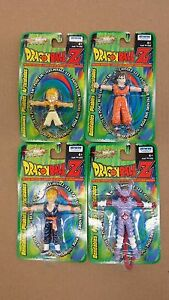 GOKU GOTENKS S.S GOHAN JANEMBA DRAGON BALL Z BENDABLES IRWIN FIGURE SET OF 4