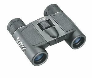 Bushnell Powerview 8x21 Compact Folding Roof Prism Binocular Black New 029757132512
