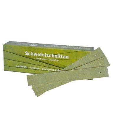 no schwefelschnitten tropfend aprox 500gr. 0,25 €//1stk