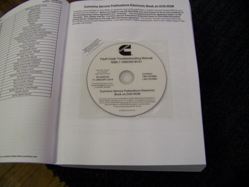 Cummins Fault Code Troubleshooting Manual  volume 2