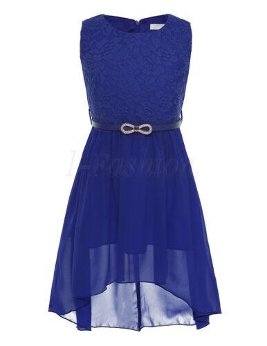 Mädchen Kleid Festlich Tüll Kleid Blumenmädchen Hochzeit Festzug Bekleidung