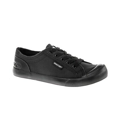 Dek Womens//Ladies Canvas Trainer Shoe DF1965