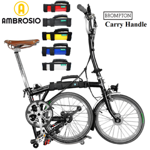 Brompton Asa Empuñadura marco bicicleta plegable llevar