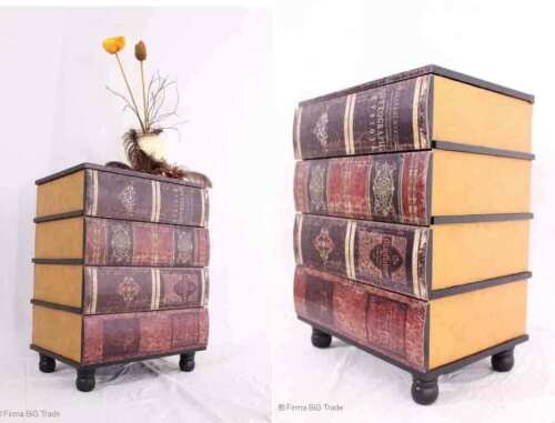 de tiroir commode sous forme de livres beistellschrank le placard du couloir commode panne