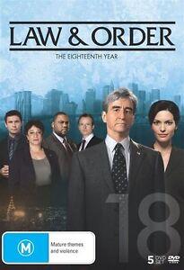Law-amp-Order-Year-18-DVD-NEW-Region-4-Australia