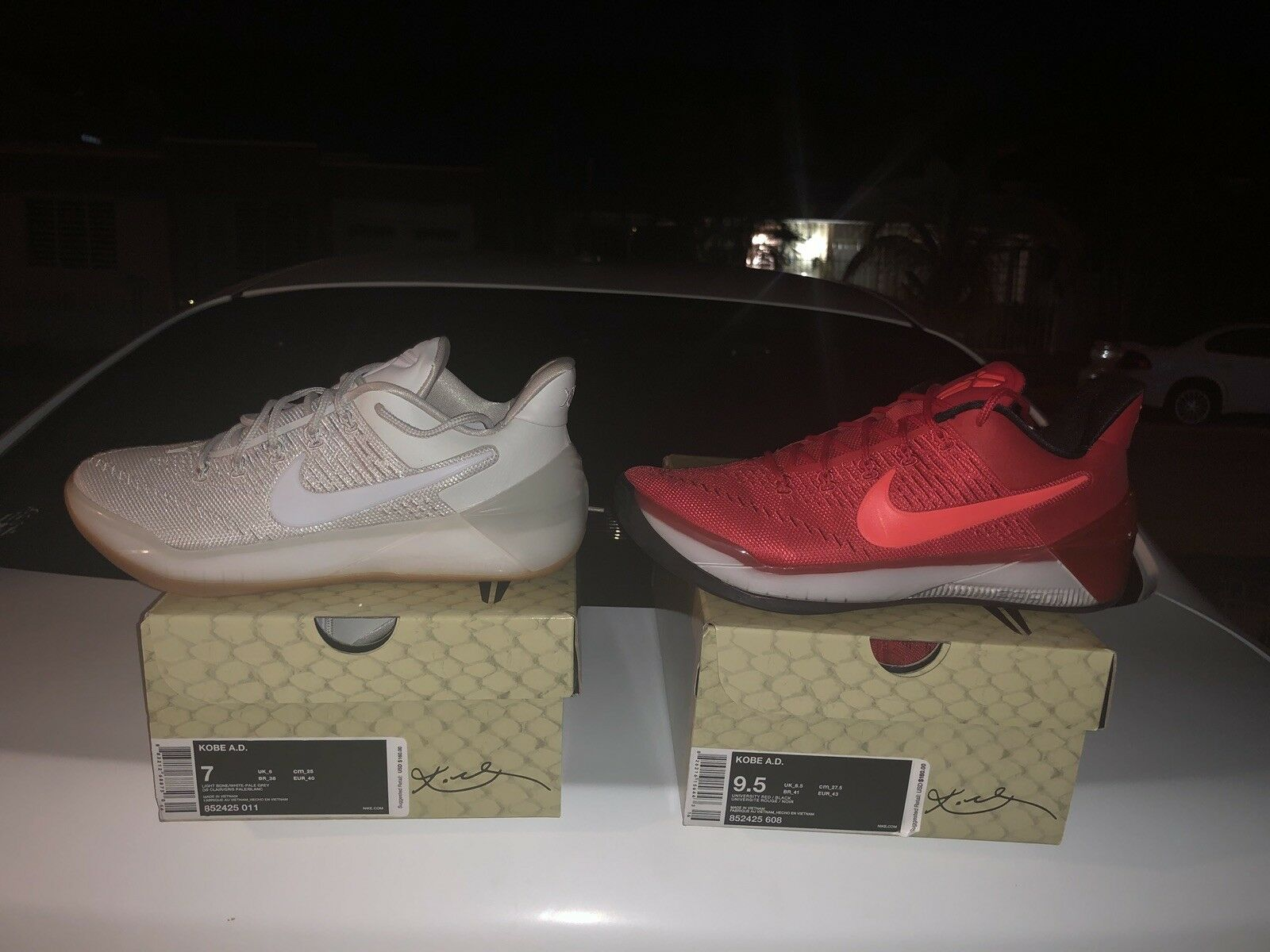 Nike kobe ad 1 und rote und 1 weiße 6da7f8