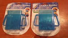 Juice Box Buddies Mommy's Helper Lot of 2 Blue Uh-Oh! Collection 02287