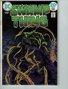 SWAMP-THING-8-FEB-1974-FINE-6-0-DC-COMICS-BERNIE-WRIGHTSON