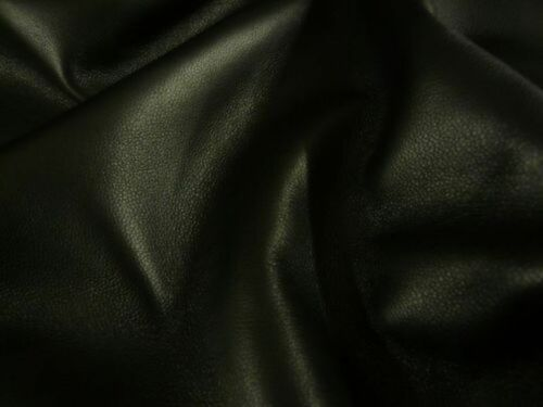 SqFt NOORA Lambskin leather hide skin hides Black Sheep Nappa Finish Leather 5