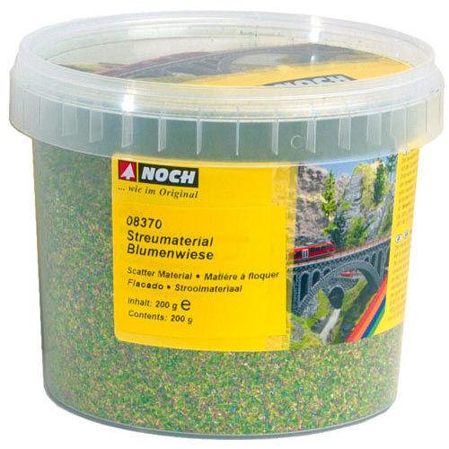 NOCH Flower Meadow Scatter Material HO Gauge Scenics 08370 200g
