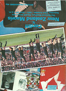 CARDIFF RUGBY UNION v NEW ZEALAND MAORIS 23 OCTOBER 1982 - North Shields, United Kingdom - CARDIFF RUGBY UNION v NEW ZEALAND MAORIS 23 OCTOBER 1982 - North Shields, United Kingdom