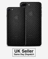 Carbon Fiber Skin Back Sticker Transparent Film For iPhone 7 / 7 Plus