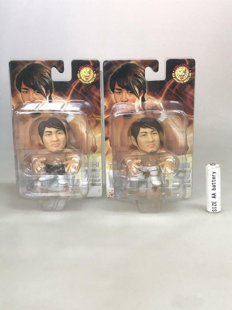Hao Collection Figure  Hiroshi Tanahashi Blanc Pantalon Noir  NJPW pro wrestling