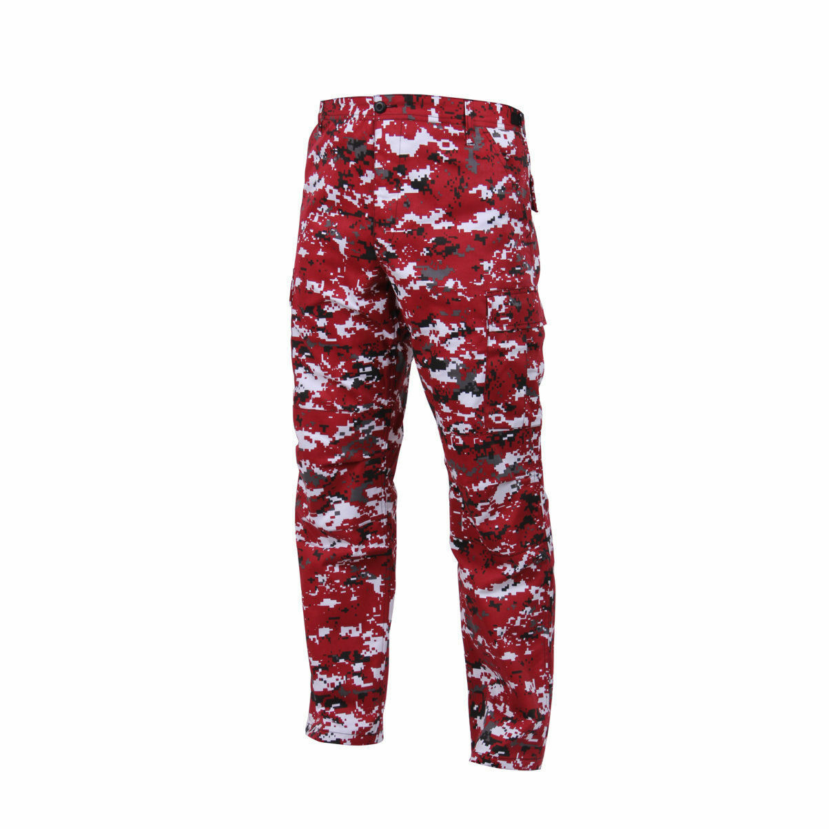 redHCO MENS RED DIGITAL CAMO BDU PANTS ARMY MILITARY FATIGUES S M L XL 2X 3X,