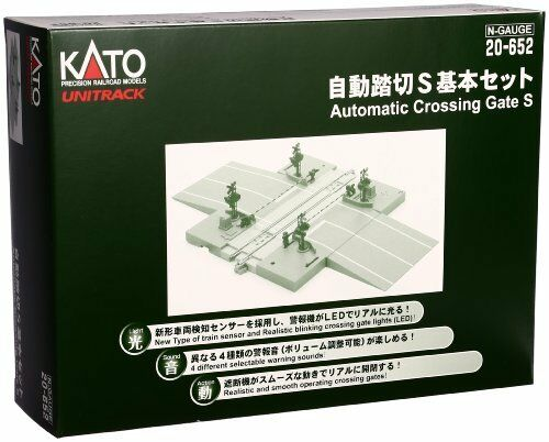 Kato N Guedj Automatic Level Crossing S Basic Set 20-652 Model Ra