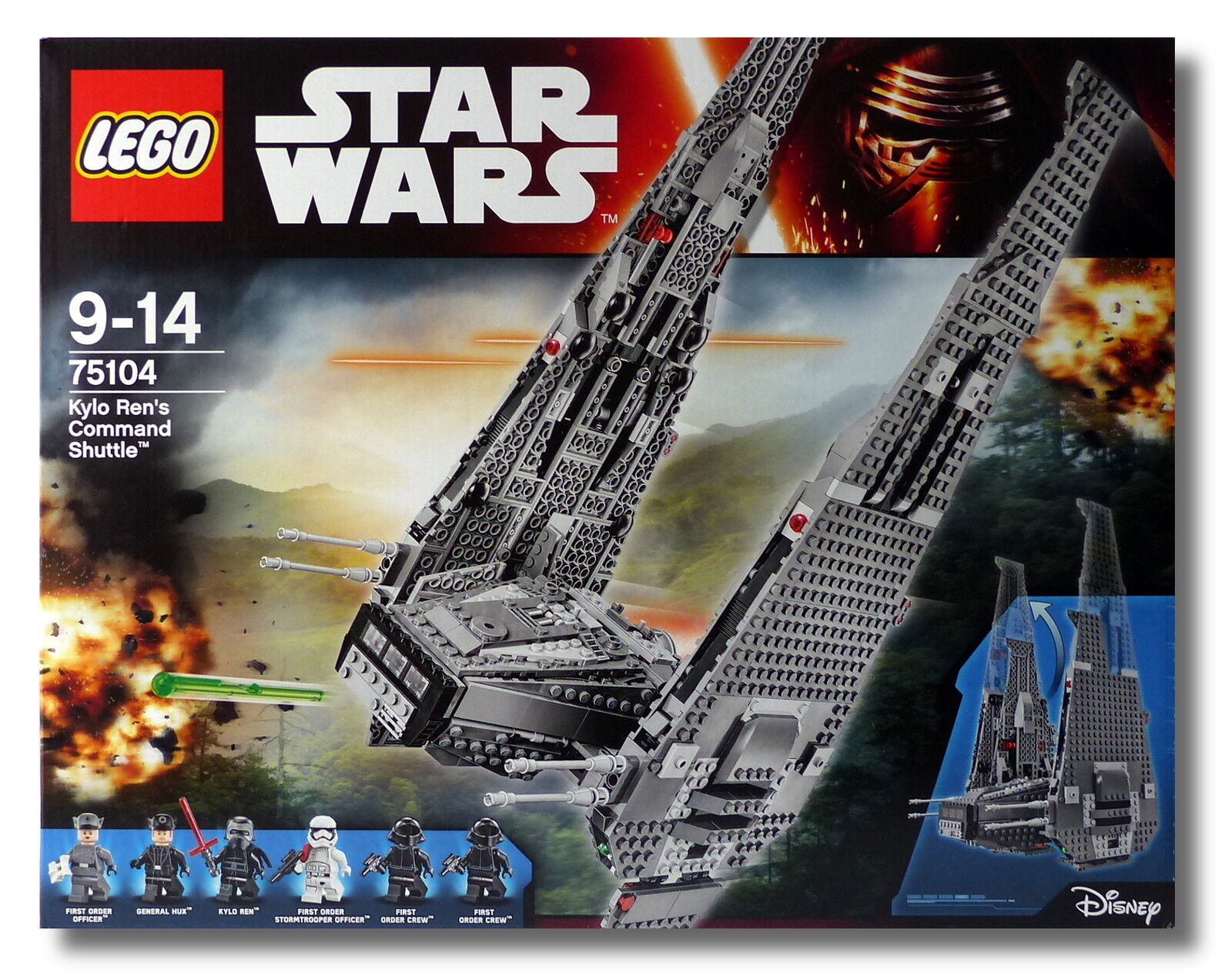 LEGO® Star Wars™ 75104 Kylo Ren's Command Shuttle™ NEU OVP NEW MISB