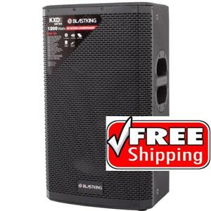 BLASTKING KXDII12A 1200 Watts 15 Active Loudspeaker with DSP Mode Canada Preview