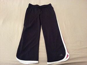 Pantalones para Medium Black Adidas Capri Athletic M Mujer qCIwrq5