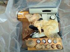 Vintage Lomo BIOLAM D11 road microscope metal box 1960s
