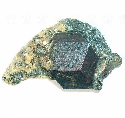 Deokorative ALMANDIN GRANAT Stufe aus dem Ötztal - Österreich Kristall-Größe 5cm