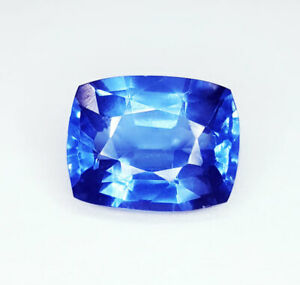 10.87 Ct Loose Gemstone Natural Blue Sapphire Ring Size Transparent Certified