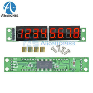 MAX7219 CWG  8-Digit  Digital Tube Display Control Module Red for arduino