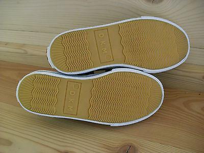 DKM Soling 07 Ballerina Gr. 29 Mädchen Schuhe Stoff hell blau Klett Buchstaben