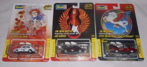 Revell Stanley Mouse Rock Art Grateful Dead Jimi Hendrix Steve Miller VW Mustang