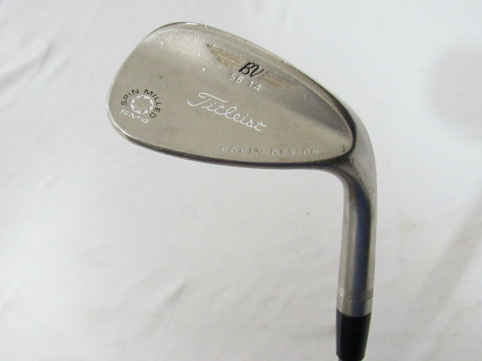 Used Titleist Vokey SM4 Chrome 56.14 Wedge - KBS Wedge Flex Graphite