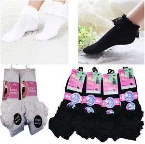 frill trainer socks