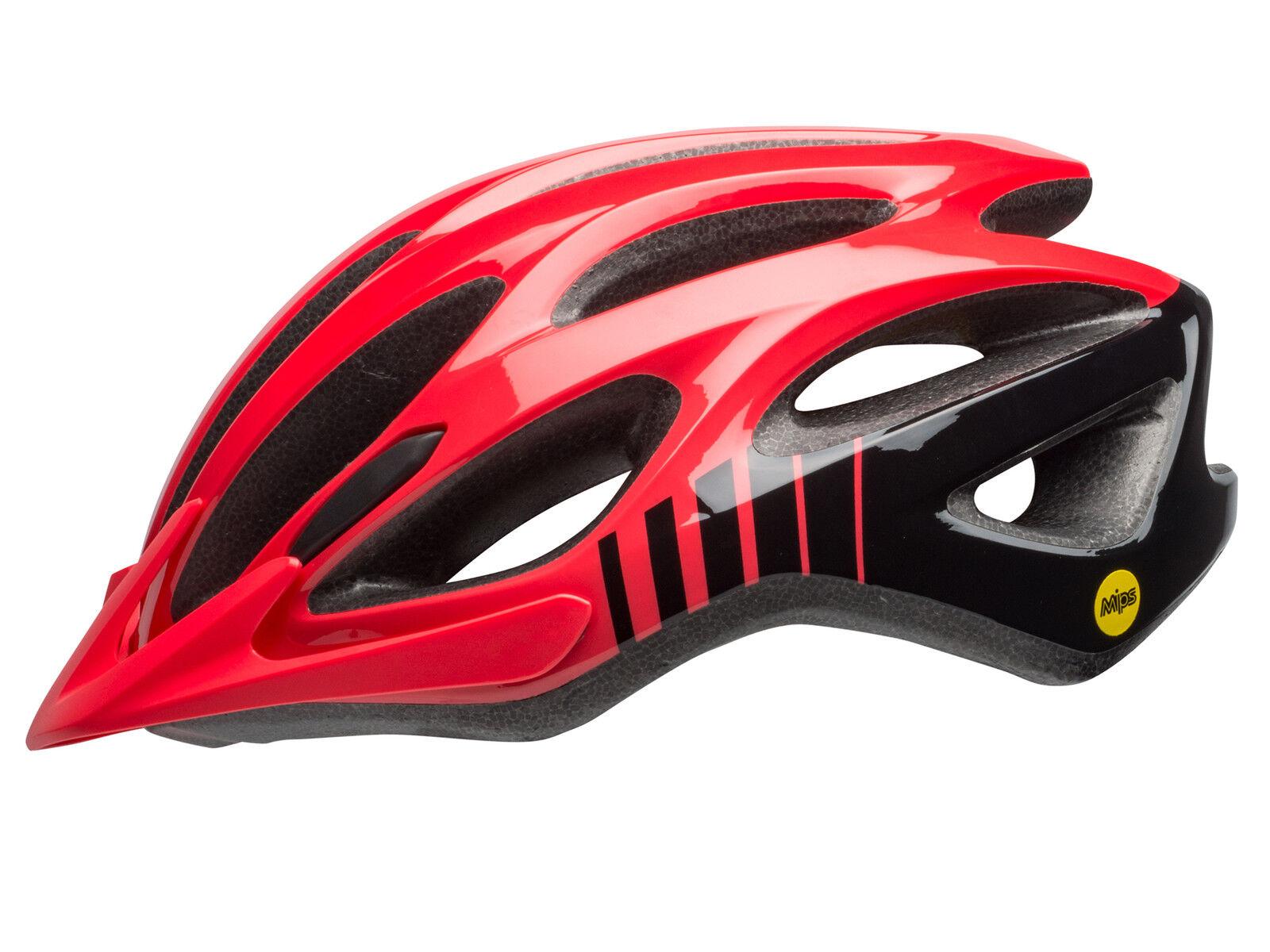 Bell Traverse MIPS Fahrrad Helm Gr. Gr. Gr. 54-61cm rot schwarz 2018 f241e6