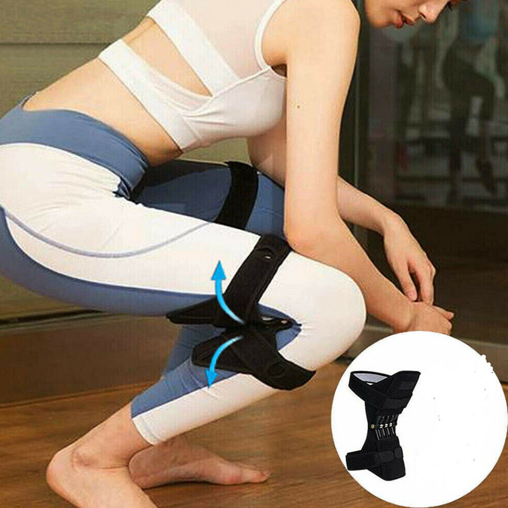 Power Knee Stabilizer Pads Powerful Rebound Spring Force Support Knee Pa 5