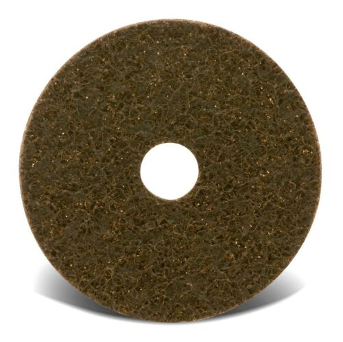 """5/"""" x 7//8/""""Hole Coarse Surface Conditioning Discs Hook /& Loop Box of 10pcs #70032"""