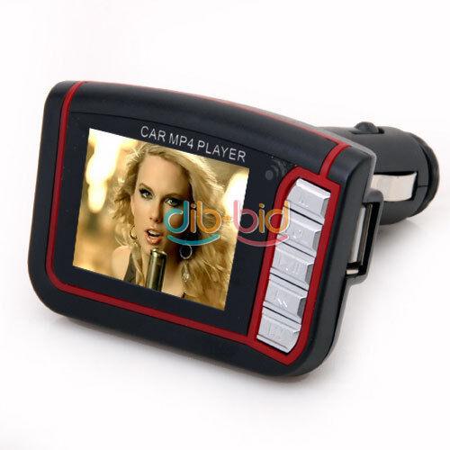 """1.8"""" LCD Voiture MP3 MP4 Player Transmetteur FM Sans Fil W/ Télécommande #"""