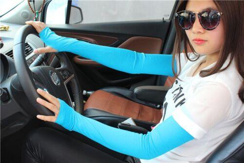 Colors Cool Women Hot Cotton Mittens Newfangled Fingerless Arm Long Gloves