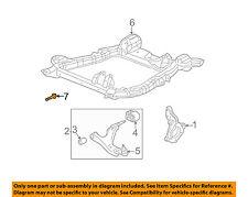 GM OEM Front Suspension-Engine Cradle Bolt 11517701