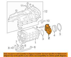 Details about MERCEDES OEM 12-17 S550-Throttle Body 2781410025