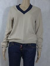 Prada Beige and Black Light Sweater Unisex Medium 10 12