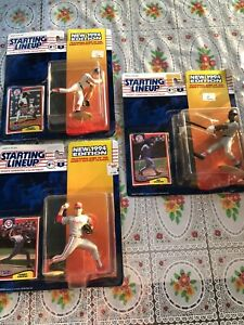 1994 ROGER CLEMENS Mo Vaughn Tommy Greene Lot Of 3. NIP Starting Lineup!